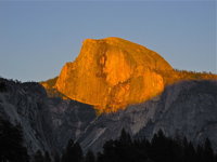 Sunset Half Dome