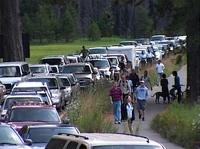 Yosemite Traffic - NPS Photo