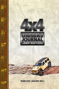 4x4 Owners Journal - Jeep Edition Cover